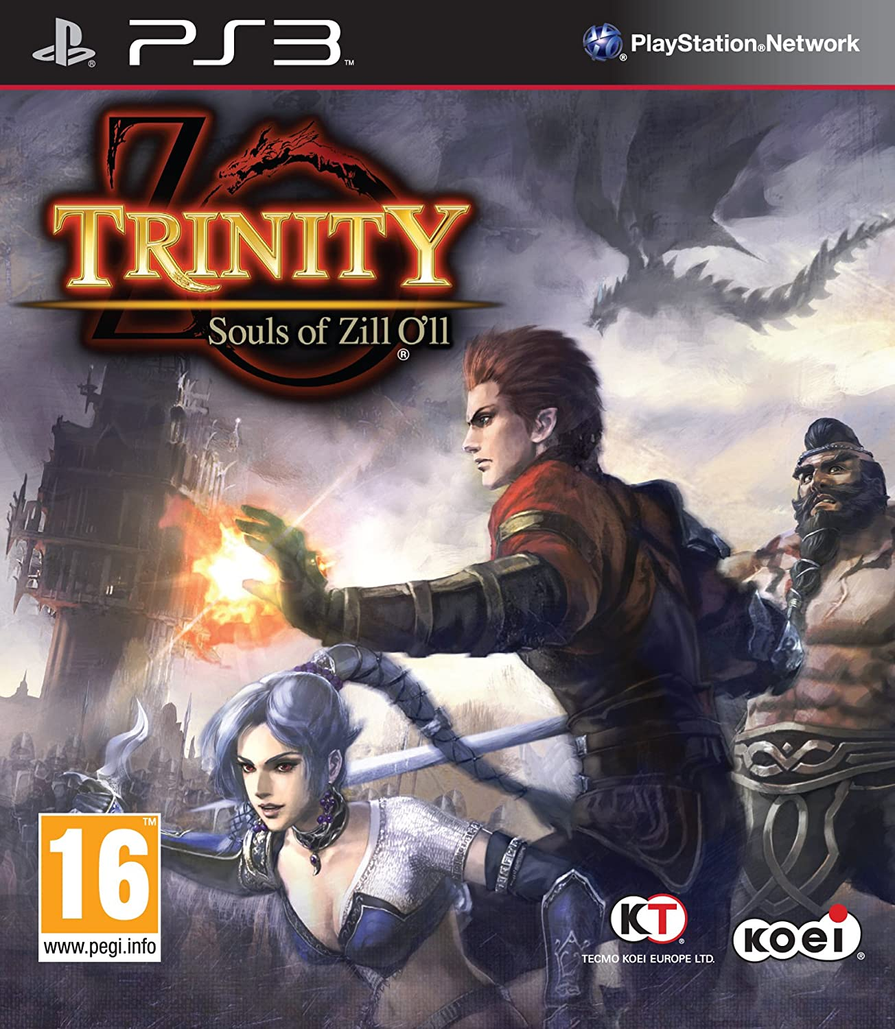 TRINITY:Souls of store Zill Baltimore Mall PS3 O'll