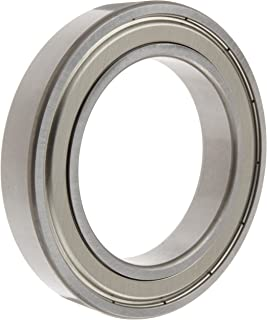 62mm OD Pressed Steel Cage 10000N Static Load Capacity Single Row Normal Clearance 11000rpm Maximum Rotational Speed 12mm Width 13700N Dynamic Load Capacity Metric Open 40mm Bore NSK 6908 Deep Groove Ball Bearing