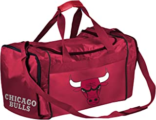 FOCO NBA Chicago Bulls Unisex CORE Duffel BAGCORE Duffel Bag, Team Color, OS
