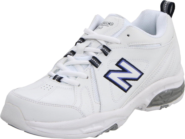 New Balance WX608 Womens US Size 8.5 White Leather Walking shoes