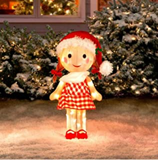 Sally Doll Rudolph the Red Nosed Reindeer Misfit Toys Tinsel Yard Art