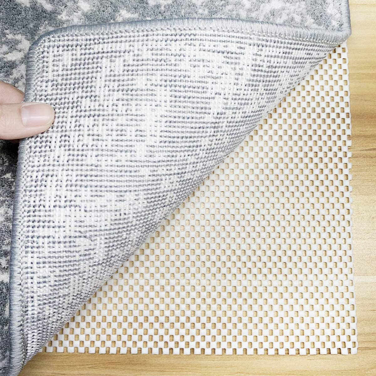 Excellence LINLA Non-Slip Area low-pricing Rug Cushioned Pad for Surface Gripper Hard