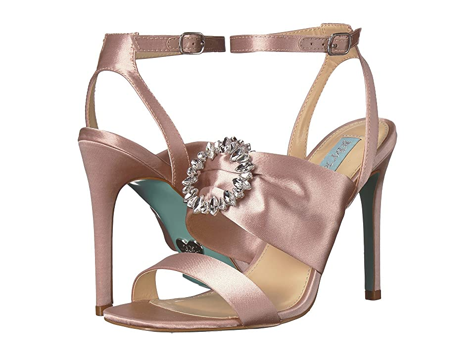 Blue by Betsey Johnson Scoti (Nude Satin) High Heels