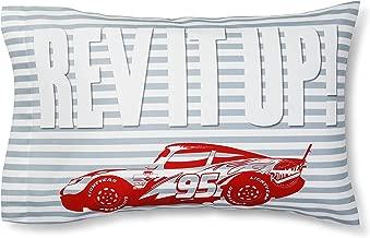 Cars Lightning McQueen Lightning Speed White Pillowcase (Standard)