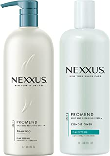 Nexxus Promend System, For Hair Prone to Split Ends 33.8 oz, 2 count (Packaging may vary)
