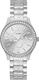 Guess Casual Watch for Women, Stainless Steel, W1280L1