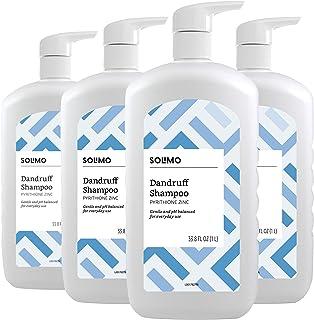 برند آمازون - شامپو شوره سر Solimo ، استفاده روزمره ، 33.8 اونس مایعات (بسته 4)