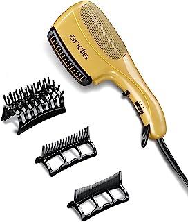Andis 82105 1875-Watt Tourmaline Ceramic Ionic Styling Hair Dryer, Gold