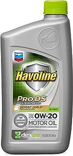Havoline 0W-20 ProDS Full Synthetic Motor Oil - 1 qt.