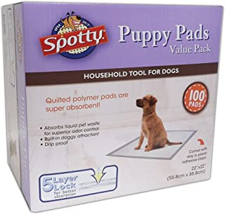 Spotty Super Absorbent Heavy Duty 5 Layer Housebreaking Training Leak Proof Pet Puppy Dog Pee Pads