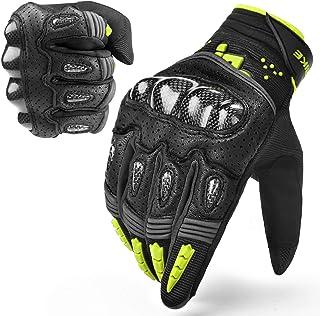 INBIKE Motorcycle Gloves Tactical Gloves Racing Gloves Hard Knuckle Safety Glove Green Large