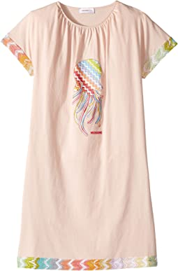 Placed Print Jellyfish Dress (Big Kids)