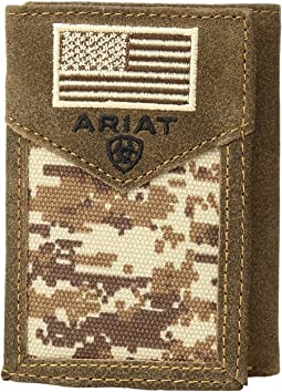 Ariat Sport Patriot Trifold Wallet