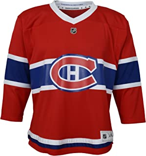 OuterStuff NHL NHL Montreal Canadiens Kids & Youth Boys Replica Jersey-Home, Red, Youth Large/X-Large(14-18)