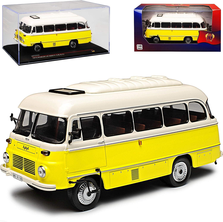 Ixo Robur Lo 3000 Fr 2 M B 21 Bus Gelb Ist 177t 1 43 Modell Auto Mit Individiuellem Wunschkennzeichen Spielzeug