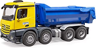 Bruder 03623 Mercedes Benz Arocs Halfpipe Dump Truck - color may vary