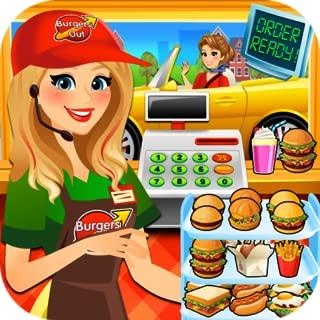 Drive Thru Simulator - Kids Fast Food Games & Burgers & Ice Cream To Go FREE
