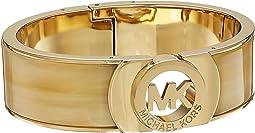 Hinged MK Logo Cuff Bracelet