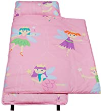 Wildkin 100% Cotton Nap Mat with Pillow for Toddler Boys and Girls, Perfect Size for Daycare and Preschool, Designed to Fit on a Standard Cot, Patterns Coordinate with Our Lunch Boxes and Backpacks