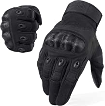WTACTFUL Touch Screen Motorcycle Full Finger Gloves for Cycling Motorbike ATV Hunting..