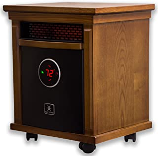 Heat Storm HS-1500-ISM Infrared Cabinet Heater, Oak