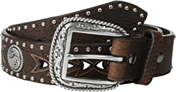 Arrow Pierced Concho Belt