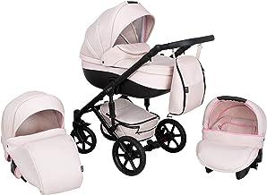 Kombi Kinderwagen 3in1 System Autositz Babyschale Zeo Storm ST4 Kinderwagen Sportwagen Babywagen Komplettset Buggy Babywanne Kinderbuggy