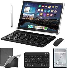 2 in 1 Tablet 10.1 Inch, Dual 4G Cellular, 64GB/128GB...
