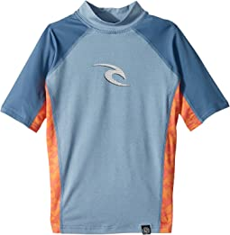 Rip Curl Kids Wave Short Sleeve (Big Kids)