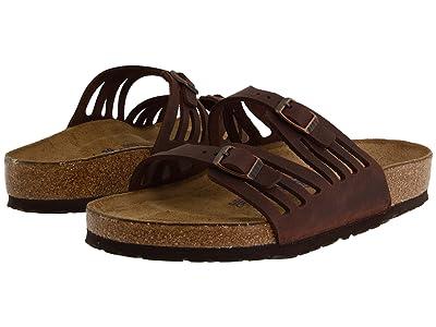 Birkenstock Granada Soft Footbed (Habana Oiled Leather) Women