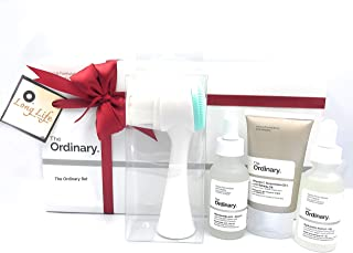 The Ordinary Facial Treatment Set! Includes Vitamin C Cream, Hyaluronic Acid Serum and Niacinamide Serum! Brightens, Hydra...