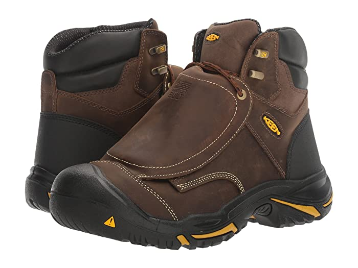 Keen Utility  Mt. Vernon Met (Cascade Brown/Tawney Olive) Mens Work Pull-on Boots
