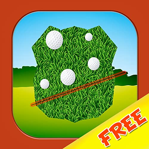 Golf Field Slicer : The 18th hole Too many balls Tournament - Free Edition