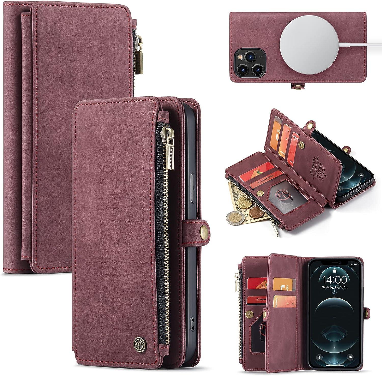 Caseme Magnetic Wallet Designed for iPhone 12 & 12 Pro(6.1
