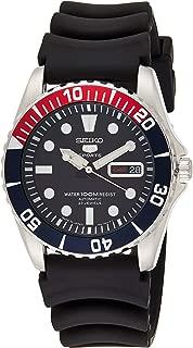 Men's SNZF15J2 Series 5 Rubber Strap Watch