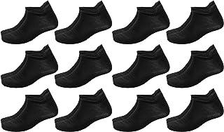 Poligono Calzini Uomo e Donna, Calze Corti Anti-Vescica per Sport, Fantasmini Invisibili, Calzini Sneakers alla Caviglia i...