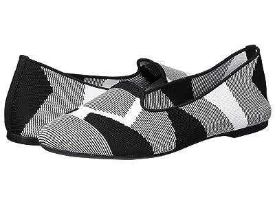 SKECHERS Cleo Sherlock (Black/White) Women
