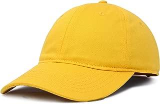 Womens Cap Adjustable Hat 100% Cotton Black White Gold Lavender Blue Pink Lime Green Hot Pink