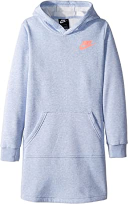 NSW Long Sleeve Hoodie Dress (Little Kids/Big Kids)