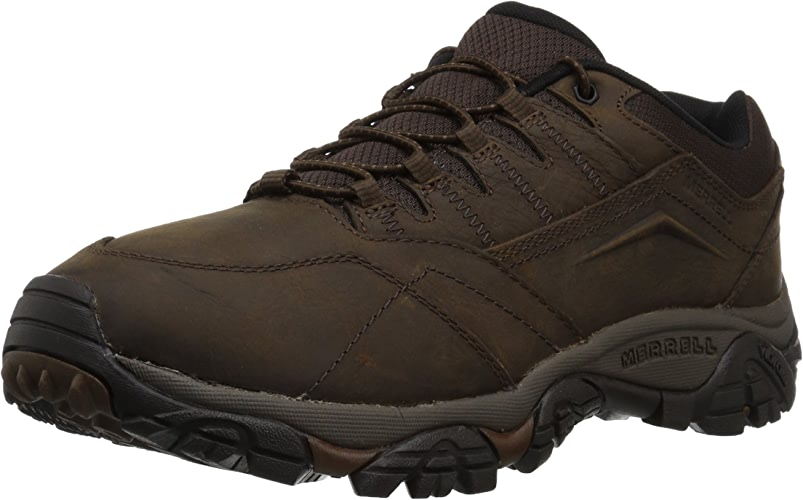 Merrell Men's Moab Adventure Stretch Hiking chaussures, Dark Earth, 8 Wide US