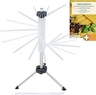 Porta 30kg 6 Ganci smartpeas Appendiabiti a Parete attaccapanni Muro 1 Ganci autoadesivi in Omaggio Acciaio Inox Bianco Plus 43x8x4cm