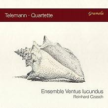Telemann : Quatuors pour flûtes. Ensemble Ventus Iucundus,