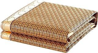 Bambusowy chłodny materac - składana mata rattanowa lodowa mata jedwabna - dostępna w sześciu rozmiarach Fajny materac (ro...