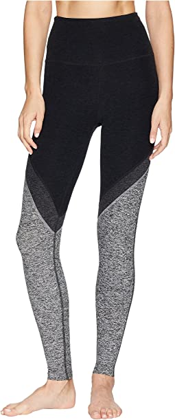 Spacedye High-Waisted Midi Leggings