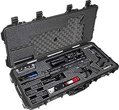 Case Club SCAR17S Pre-Cut Waterproof Rifle Case with Accessory Box and Silica Gel to Help Prevent Gun Rust (Gen 2)