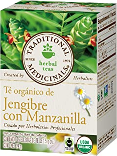 Traditional Medicinals Tea Ginger Chamomile, 16 ct