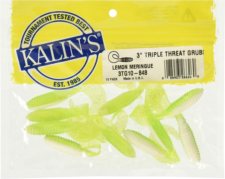 Kalins Triple Threat Grub 10 Pack