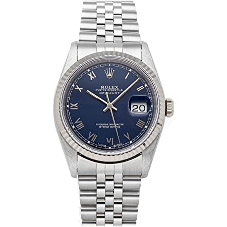 Rolex Datejust Mechanical (Automatic) Blue Dial Mens Watch 16234 (Pre-Owned)