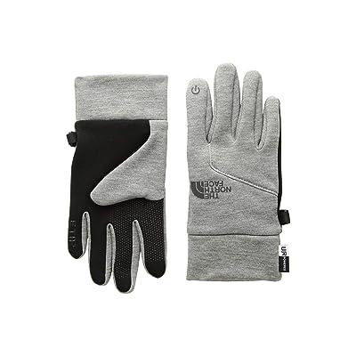 The North Face Kids Etiptm Gloves (Big Kids) (TNF Medium Grey Heather) Extreme Cold Weather Gloves