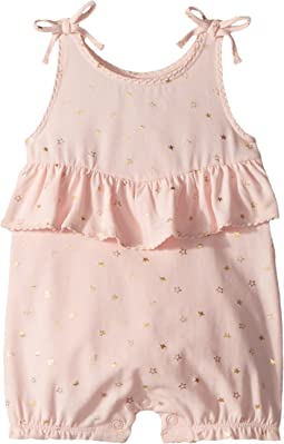 Mud Pie - Sparkle Sleeveless Bubble (Infant)